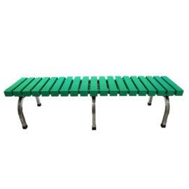 Băng ghế nhựa 1m9 - màu xanh lá