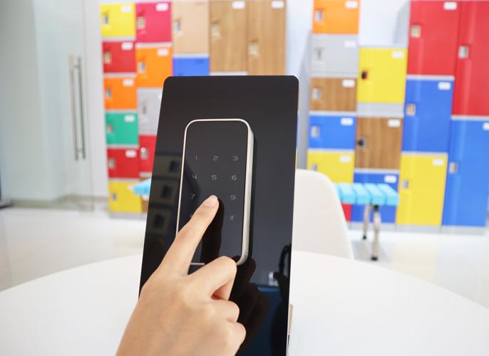 Khóa Be-Tech sử dụng phím số điện tử